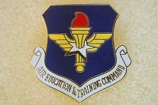 US USA USAF Air Force Air Education And Training Military Hat Lapel Pin