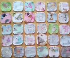 Reusable Cotton Face Wipes x 20 Cloth Pads Handmade Eco Friendly Baby Kids