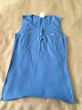 Lacoste Light Blue Sleeveless Top size eu 42 / small