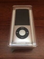 Apple 8GB iPod Nano 5th Generation Silver Camera NEW