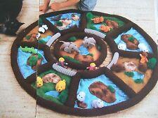 Vintage sewing pattern Jean Greenhowe Zoo tapis + animaux jouet