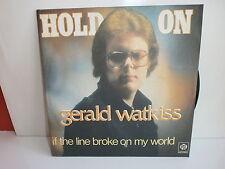Gerald watkiss hold on 107 45 py 158