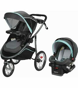 Graco Modes Jogger Click Connect Travel System with SnugRide 35 Baby Car Seat