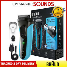 Braun 3040s Series 3 Electric Shaver, ProSkin Rechargeable Wet&Dry Shaver - Blue