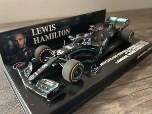 MINICHAMPS LEWIS HAMILTON MERCEDES AMG F1 W11 1/43 SCALE WINNER STYRIAN GP 2020