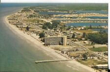 redingote beach florida postcard circa 1960