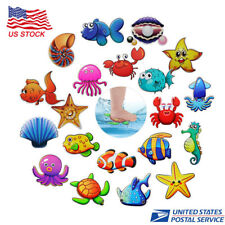 20Pcs Non-Slip Safety Shower Treads Adhesive Bathtub Stickers Toys for Kids