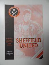 More details for sheffield united v everton | 1995/1996 | reserves | 30 apr 1996 | uk freepost