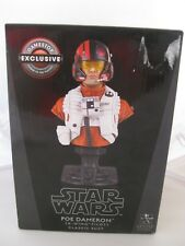 Star Wars Poe Dameron Bust Game Stop Exclusive X Wing Pilot #2659 of 4000 New