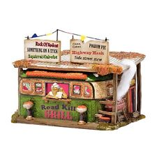 "Dept. 56 Snow Village Halloween ""ROADKILL GRILL ~ MIB ~ Great Diner!"