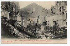 POMPIERS sapeurs pompiers feu C2  incendie du théatre municipal de NANCY en 1906