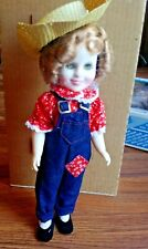 "Ideal Vintage Shirley Temple Doll Rebecca Of Sunnybrook 12"" 1982 ~ Free Ship!"
