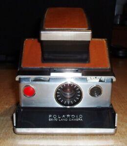 POLAROID SX - 70 LAND CAMERA alte Kamera Ledertasche