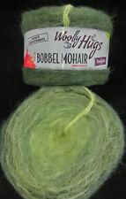 (11,17 €/100g): 150 Gramm Woolly Hugs Bobbel MOHAIR Farbe 203 grün  #1868