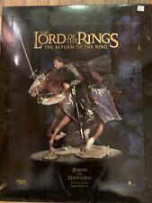 Lotr sideshow Weta Aragorn At The Black Gates 1160/5000