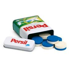 Wooden Persil washing tablets in a tin by Erzi pretend play grocery shop kitchen