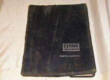 """Clark Lift Truck Parts Book - Circa 1968 - 8 1/2"""" x 11"""""""