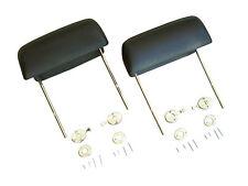 68 69 70 71 72 Chevelle & El Camino Bucket Seat Headrests (2) + Release kit (4)