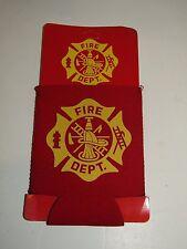 Fire Dept. Department Crest Seal Can Jacket
