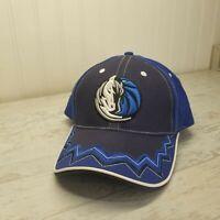 Dallas Mavericks Logo NBA Basketball Blue Adjustable Baseball Hat Cap EUC