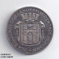 Medaille Stadt München für lang und treu geleistete Dienste - Silber Bayern