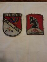 Lot of vintage US military insignia patches