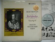 OISTRAKH KNUSHEVITZKY OBORIN PLAY BEETHOVEN ARCHDUKE TRIO EMI COLUMBIA SAX 2352