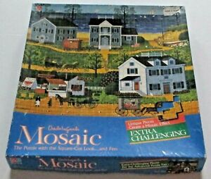 GULL'S NEST ~ MOSAIC Charles Wysocki ~ 300 Piece Jigsaw Puzzle MB #4290-1
