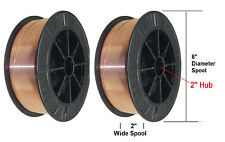 "MIG Welding Wire ER70S-6 Mild Steel Mig 11 Ib .045"" 2 Rolls 70S6 11Ib Each Roll"