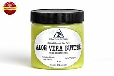 ALOE VERA BUTTER ORGANIC COLD PRESSED RAW PREMIUM QUALITY FRESH PURE 4 OZ