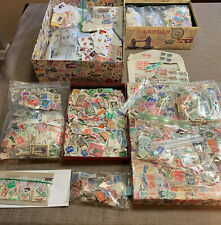 Lot of International Stamps - 2000 stamps from past 90 years