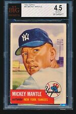 1953 Topps MICKEY MANTLE #82 BVG 4.5