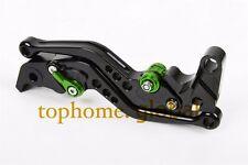 For Kawasaki Ninja 250R 08-2012 / 300R 2013-2018 Short Clutch Brake Levers  B/G