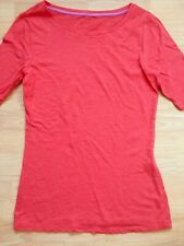 BODEN strawberry boatneck Tee  size 8