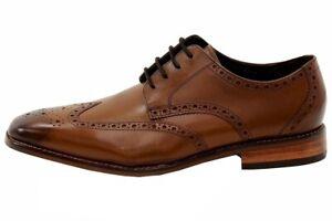 Florsheim Men's Castellano Wing OX Saddle Tan Oxfords Shoes