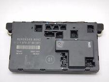 2006-2009 W211 E350 E550 E63 FRONT LEFT DOOR CONTROL MODULE UNIT WINDOW SWITCH