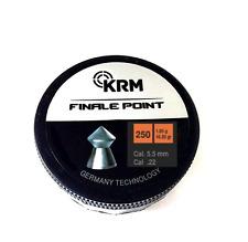 250 pallini magnum finalepoint cal 5,5mm carabina colpi precisione piombini