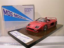 MOG MODELES No.14 FERRARI TESTAROSSA KOENIG TURBO CAB GENEVE '89 RED BOXED 1:43