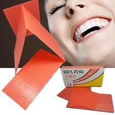 18 PCS NEW Dental Lab Base Plate Red Utility Wax Dental Supply for dental health
