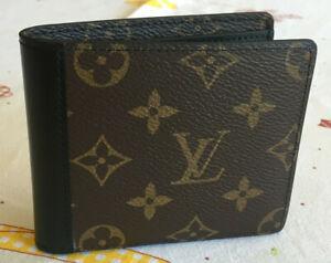 Louis Vuitton Gaspar Double Wallet 2-Fold M93801 Monogram Macassar Canvas
