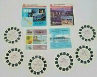2 Sets State Tour Hawaii Honolulu Waikiki US Travel View-Master Reels Packet