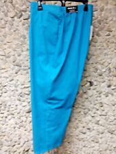 NWT Alfred Dunner woman's turquoise pants 22 W Short ( MSRP $52.00) only $28.99!