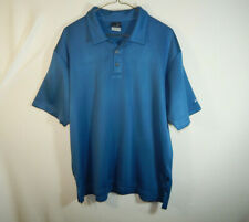 Nike Sphere Dry Dri Fit Short Sleeve Polo Golf Shirt Size LARGE L Mens Clothing