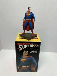DC Comics Miniature Superman Statue by Dan Jurgens 3193/5000 Limited Edition CIB