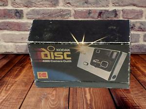 Vintage 1980's Kodak Disc 4000 Camera WITH Box