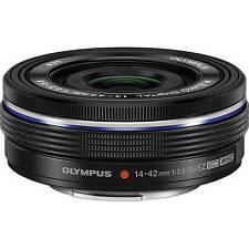 Olympus M.Zuiko Digital 14-42mm EZ ED MSC Pancake-Zoom schwarz gebraucht wie neu