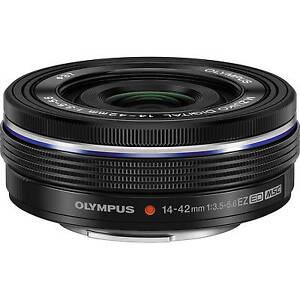 Olympus M.Zuiko Digital 14-42mm EZ ED MSC Pancake-Zoom schwarz gebraucht