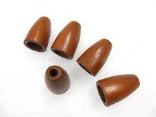 5 Persiana cordón - Madera noble 4.5 cm x 3 caoba oscura Estor plegable parte