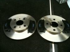 TOYOTA GLANZA  STARLET TURBO EP82 EP91 FRONT BRAKE DISCS & PADS