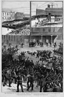 SEATTLE WASHINGTON TERRITORY THE ANTI-CHINESE RIOT CHINAMEN 1886 CHINESE HISTORY